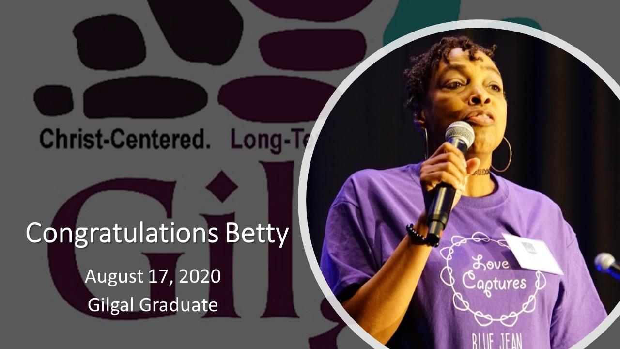 Betty Congrats Sign
